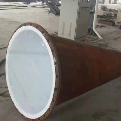 容器塔节内贴四氟板