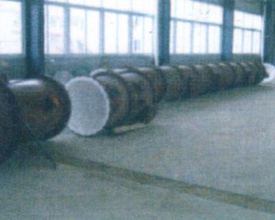 DN1100钢衬四氟塔节
