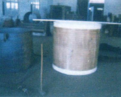 DN1100整体模压四氟桶的表面处理